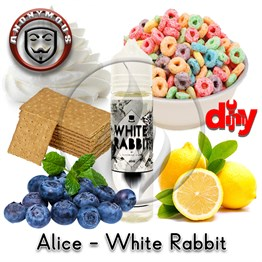 Anonymous MiX - Alice in VapeLand - White Rabbit Diy Kit